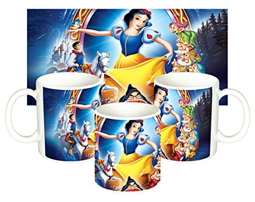 Blancanieves Y Los Siete Enanitos Snow White And The Seven Dwarfs Disney Tasse Mug (Blancanieves Y Los Siete Enanitos)