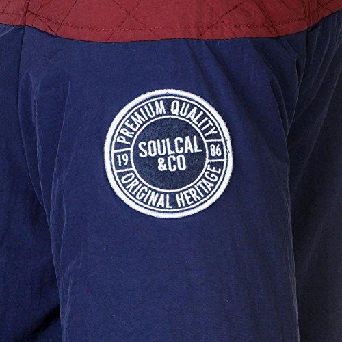Soulcal Uomo Giacca Chad Azzurro/Burg