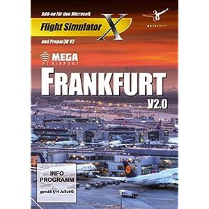 Flight Simulator X – Mega Airport Frankfurt V2.0 (Add – On) – [PC]