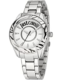 Just Cavalli Reloj de cuarzo Just Style Plateado 37 mm