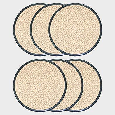 Stil sedie - ricambio fondelli sedile per sedia vienna thonet (6nero)