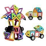 Magnetische Bausteine, Innoo Tech 76tlg mini Konstruktionsbausteine, Inspirierende Bauklötze Baukasten, Konstruktion Blöcke, Magnetspielzeug Lernspielzeug, Tolles Geschenk für Baby Kleinkind ab 3 Jahre
