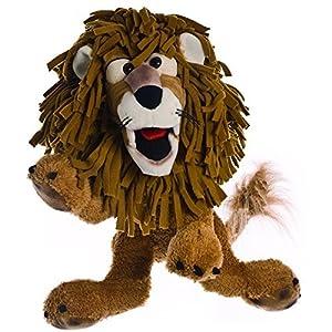 Living Puppets W200 Carl Der Löwe - Marioneta de Mano, Color marrón