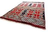 Damaskunst 200x135 cm Orientalischer Teppich, Kelim,Kilim,Carpet,Bodenmatte,Bodenbelag,Rug S 1427