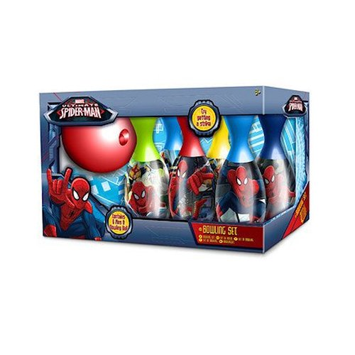 Sambro - Marvel Ultimate Spider-Man Bowlingset [UK Import]