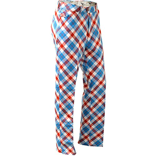 ROYAL & AWESOME HERREN GOLF HOSE - Plaid a Blinder