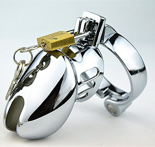Yocitoy Bon-dage - Cage de pé-nis chasti-ty dispositif de chaste-té de 3 tailles bagues à choisir (40mm)