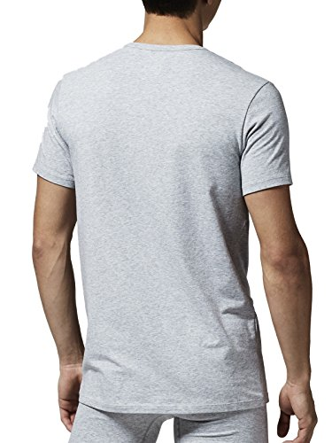 Lacoste Intimo Uomo T-shirt Lacoste CN TEE (DPK), One Color 2-pack Grigio mélange