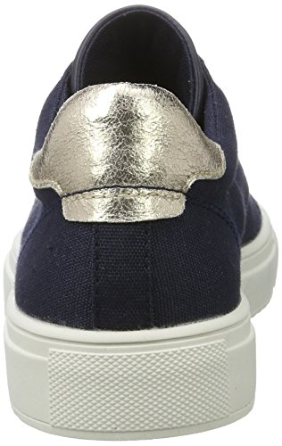 Esprit Damen Sandrine Lu Sneakers Blau (400 Navy)