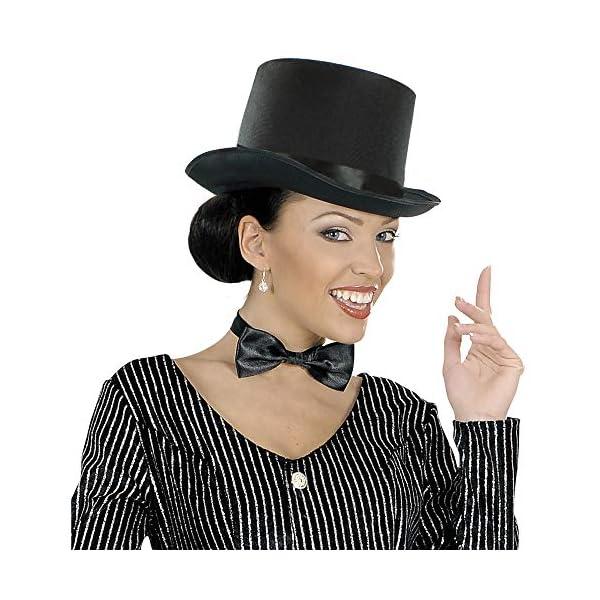 Cappello a Cilindro Nero 3 spesavip