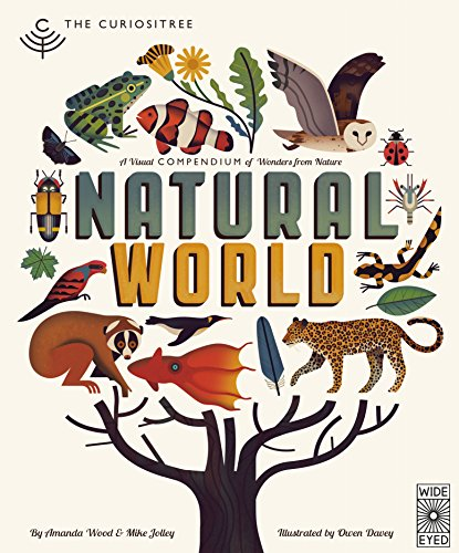Curiositree: Natural World: A Visual Compendium of Wonders from Nature - Jacket unfolds into a huge wall poster! por AJ Wood