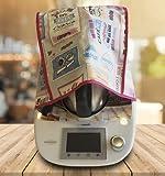 Housse de protection antitache pour Thermomix Love Cooking TM5
