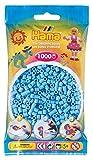 Hama 207-46 - Perlen, 1000 Stück, pastell blau -