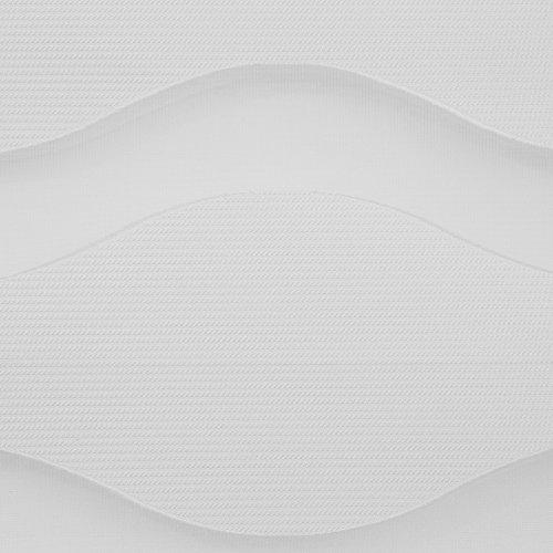 Lichtblick Duo-Rollo Welle Klemmfix, 90 cm x 150 cm (B x L) in Weiß, ohne Bohren, Doppelrollo mit Jalousie-Funktion, dekorativer Sonnen- & Sichtschutz, für Fenster & Türen - 5