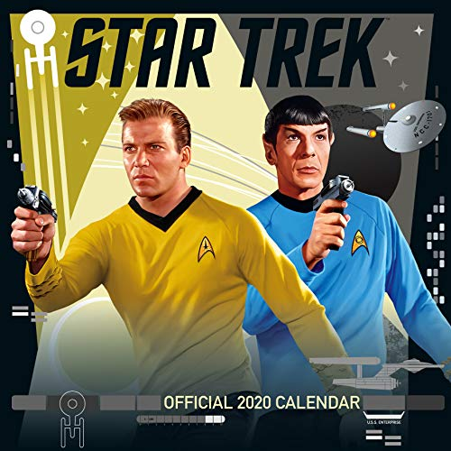 Star Trek TV Series Classic 2020 Calendar - Official Square Wall Format Calendar par Star Trek