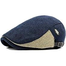 Anshili Hombres Casquillo Boinas Beret Sombreros para Invierno 09fa9750a47