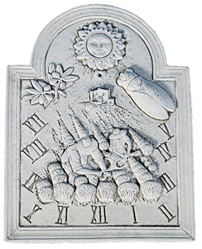 Cadran solaire La moisson en pierre reconstituée