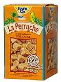 La Perruche braune Rohrzuckerwürfel