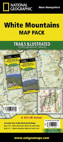 White Mountains National Forest, Map Pack Bundle: Trails Illustrated Other Rec. Areas (National Geographic Trails Illustrated Map)