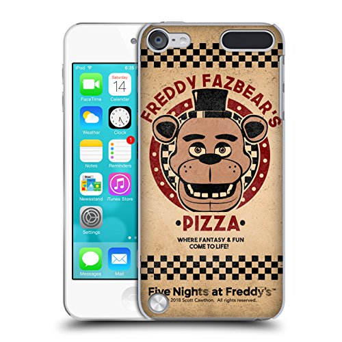 Official Five Nights At Freddy's Freddy Freddy Fazbear's Pizza Hard Back Case for Touch 5th Gen / Touch 6th Gen