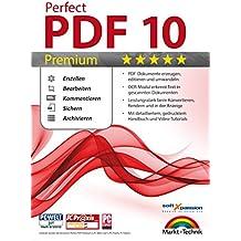 Perfect PDF 10 PREMIUM inkl. OCR Modul PDFs Erstellen, Bearbeiten, Umwandeln, Sichern, Kommentare hinzufügen, Formulare ausfüllen   100% Kompatibel mit Adobe Acrobat