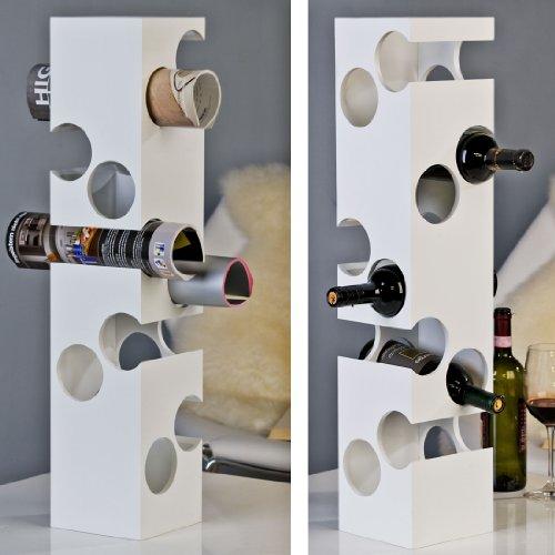 Weinregal CORNER für 10 Flaschen