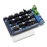 lzndeal rampas de Accesorios de Impresora 3D 1.6Tarjeta de Control de extensión de Placa Base de 4Capas