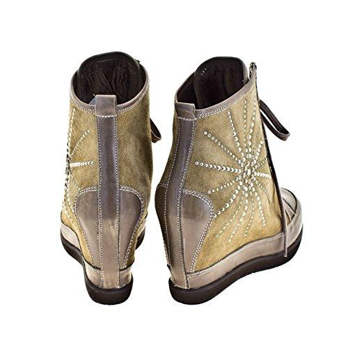 ROBERTO BOTELLA - <p>    Sneakers avec talon compensé   </p>    Brown - Combi3