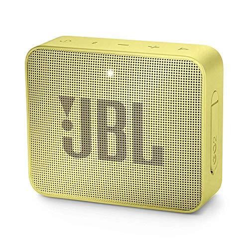 JBL Go 2 - Altavoz inalámbrico con Bluetooth, Color amarrilo