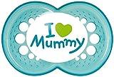 MAM – Original Silikon I love mummy 6+ boy, Doppelpack - 2