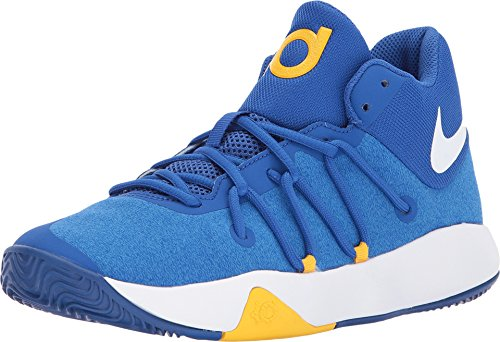 18e36966faa96 NIKE Kids' Grade School KD Trey 5 V Basketball Shoes (7, Royal Blue/White)