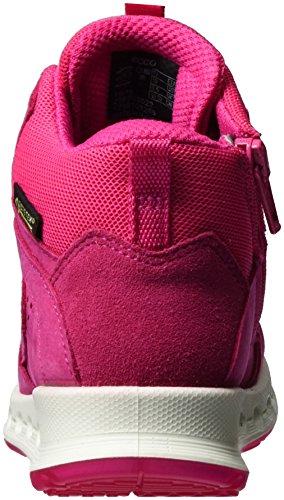 ECCO Cool, Sneaker a Collo Alto Bambina Rosa (Beetroot/beetroot)