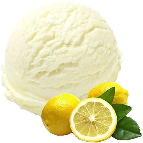 Zitrone Geschmack 1 Kg Gino Gelati Eispulver für Speiseeis Softeispulver Speiseeispulver