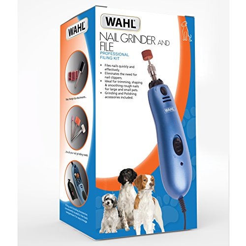 Wahl Pet Nail Grinder, Blue