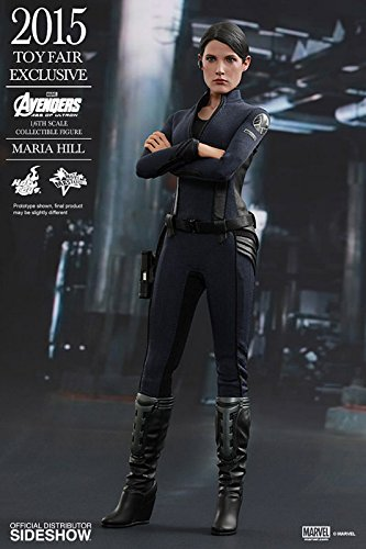 Hot Toys- Marvel Heroes Figurine, HTMMS305, Noire