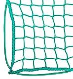 lasiprofi Abdecknetz für PKW-Anhänger, Pritschen und Container 7,0 x 3,5 Meter Grün