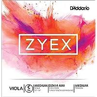 D'Addario DZ414-MM Zyex Viola Einzelsaite 'C' synthetische Faser Medium Medium
