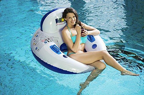 Schwimmring Sessel Schwimmsessel Pool Wasser Liege Sessel Badering ø 109 cm Neu