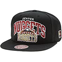 great fit 102c5 4c36d Mitchell   Ness Denver Nuggets Arch HWC Patch Snapback NBA Cap Black