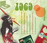 1969 Geburtstag Geschenken - 1969 Chart Hits CD und 1969 Geburtstagskarte