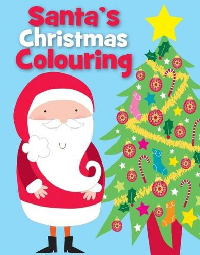 Christmas Colouring Santa