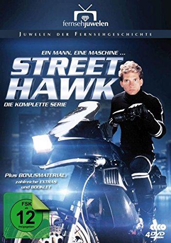 Street Hawk - Die komplette Serie [4 DVD] - Tv-serien-hawk