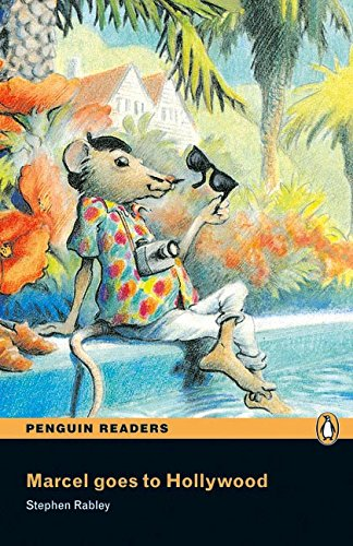 Penguin Readers 1: Marcel goes to Hollywood Book & CD Pack: Level 1 (Pearson English Graded Readers) - 9781405878104