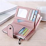 Bringbring Women Fashion Short Wallet Coin Purse Card Holders Handbag