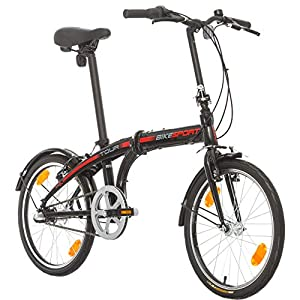 51mMuvTwLPL. SS300  - Bikesport TOUR Folding Bike Bicycle 24 inch wheels Shimano 3 gears Nexus