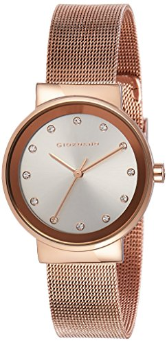 Giordano Analog Silver Dial Women's Watch-A2047-22