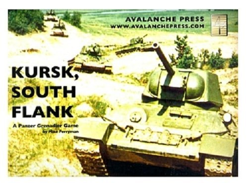 Kursk South Flank - A Panzer Grenadier Game - Board Game