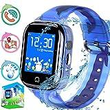 Kid Waterproof Smart Watch Phone with GPS Tracker for Boy Girl, Children Smart