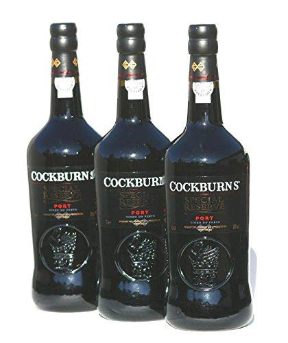 Cockburns Portwein SET 3 X 1,0 Liter