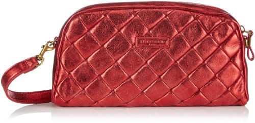Liebeskind Berlin May double dyed studs May Damen Umhängetaschen 17x15x3 cm (B x H x T), Rot (lollipop)